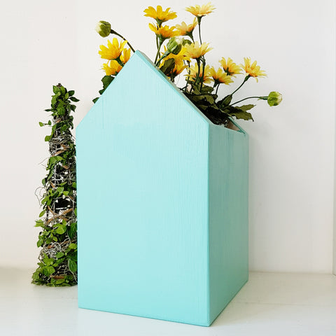 Simply Colour Plant Holder - Turquoise Blue