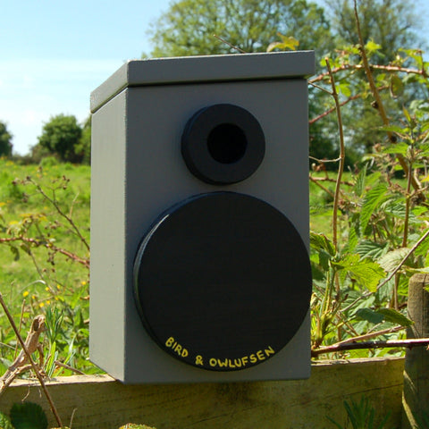 Personalised Speaker Bird Box - Lindleywood