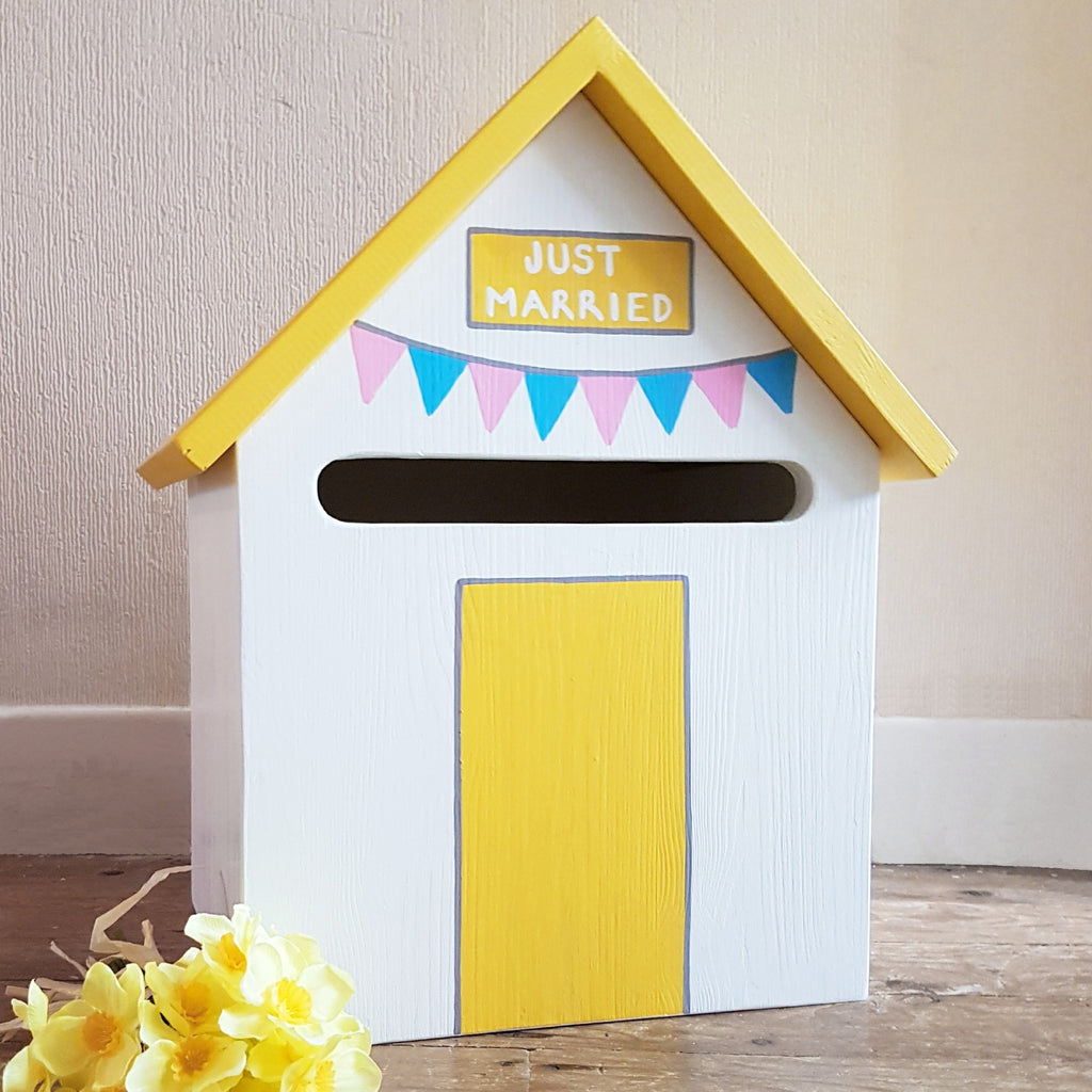 Summer Hut Personalised Post Box - Lindleywood