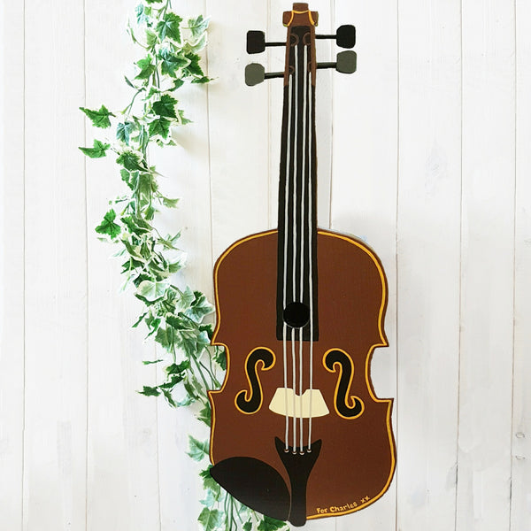Personalised Fiddle - Violin Bird Box - Lindleywood