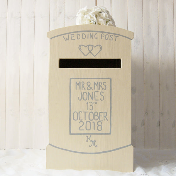Post Box Personalised Wedding Post Box - Lindleywood