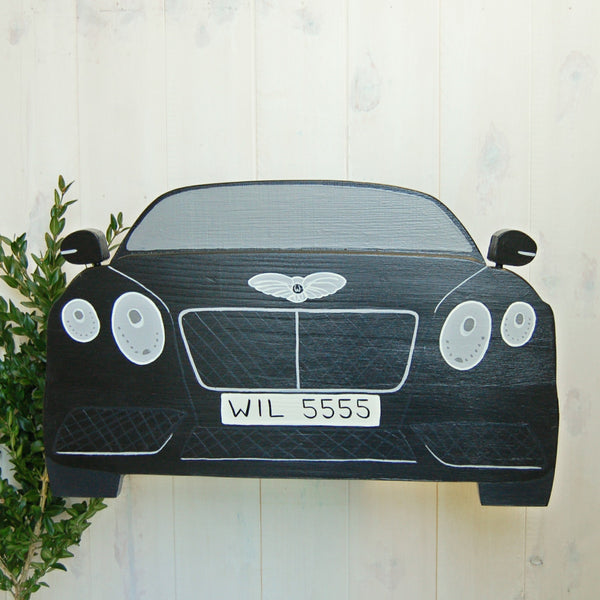 Personalised Luxury Car Bird Box - Lindleywood