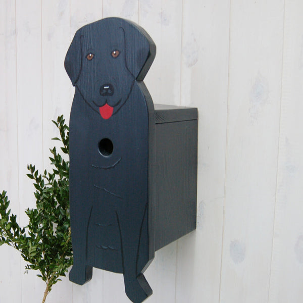 Handcrafted Labrador Dog Bird Box - Lindleywood