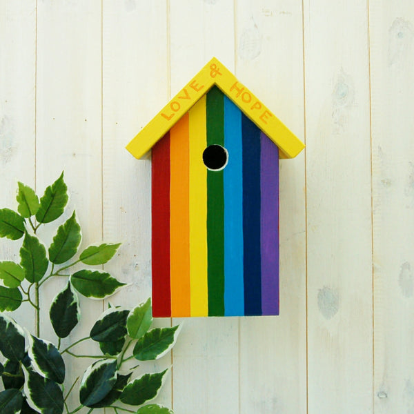 Rainbow Bird Box