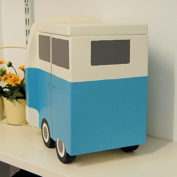 Personalised Campervan Split Screen Keepsake Box - Lindleywood