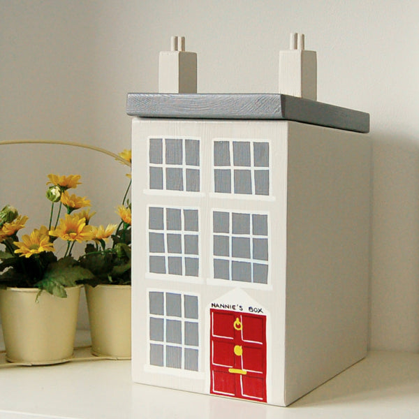 Personalised Georgian House Keepsake Box - Lindleywood