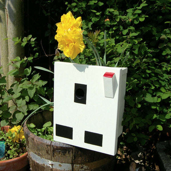 Handcrafted Electrical Socket Bird Box - Lindleywood