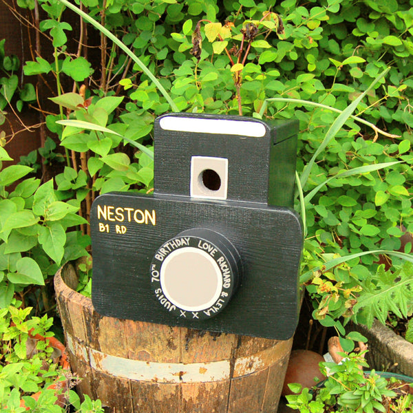 Personalised Camera Bird Box - Lindleywood