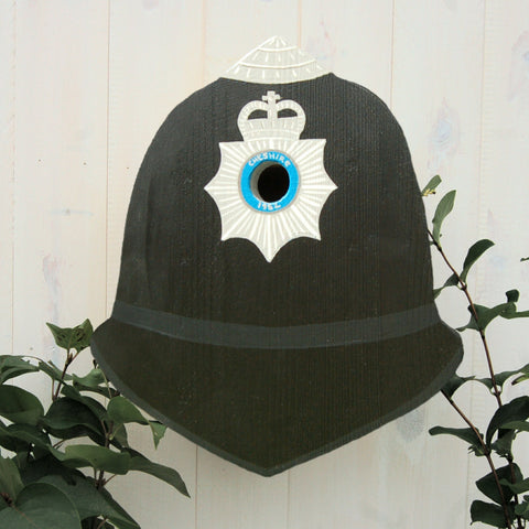 Police Helmet Bird Box