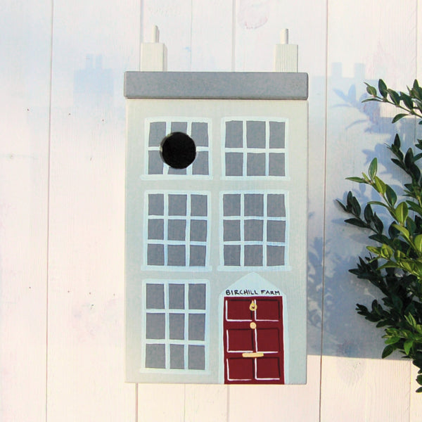 Personalised Georgian House Bird Box - Lindleywood