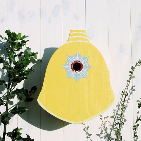 Personalised Firefighter Helmet Bird Box - Lindleywood