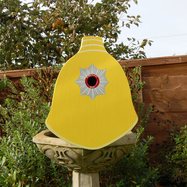 Firefighter Helmet Bird Box