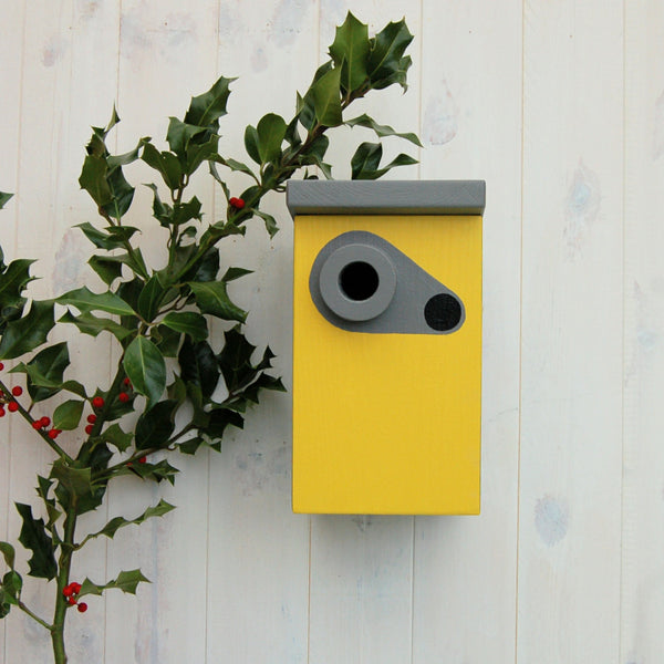 Handcrafted Speed Camera Bird Box - Lindleywood