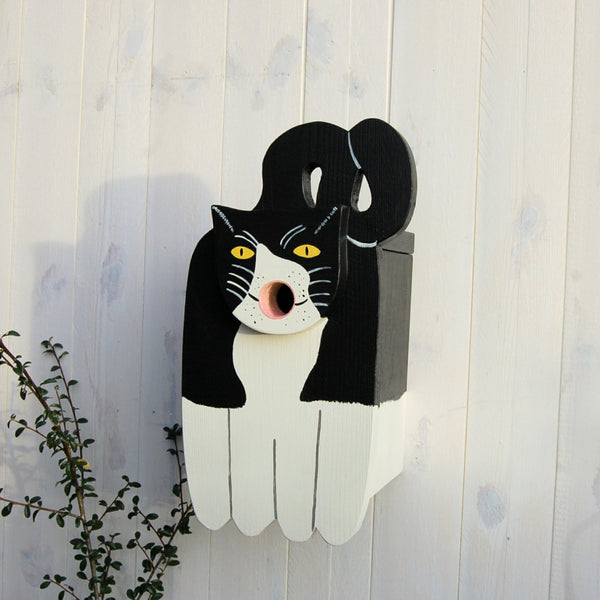 Personalised Cat Bird Box - Lindleywood