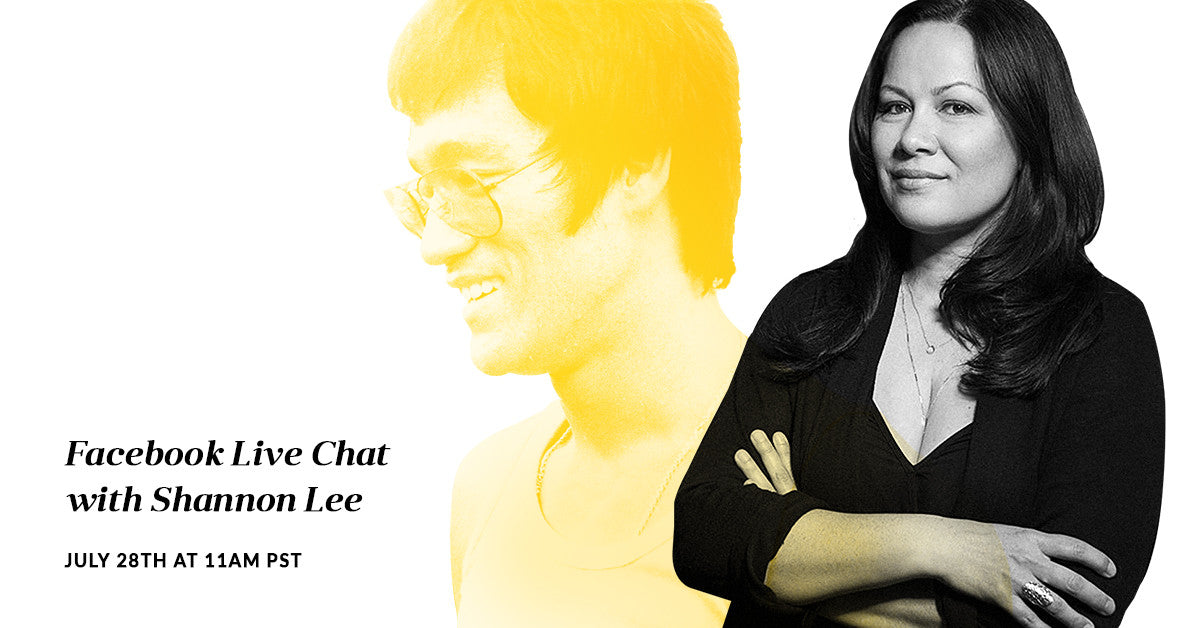 Facebook Live Chat with Shannon Lee | July 28, 2017
