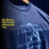 Be Water Bruce Silhouette T-Shirt | Shop the Bruce Lee Official Store