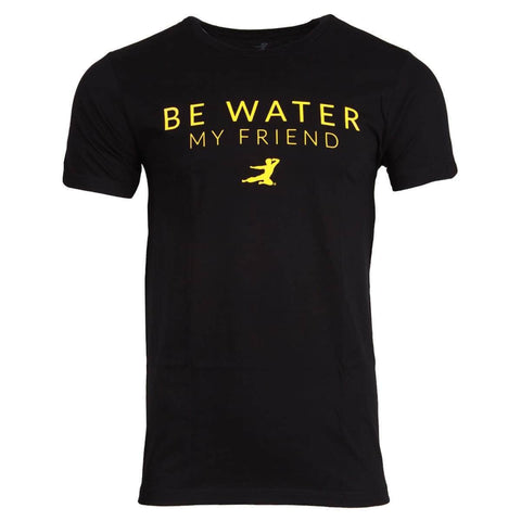 Be Water, My Friend Core T-shirt - Black | Shop the Bruce Lee Official Store