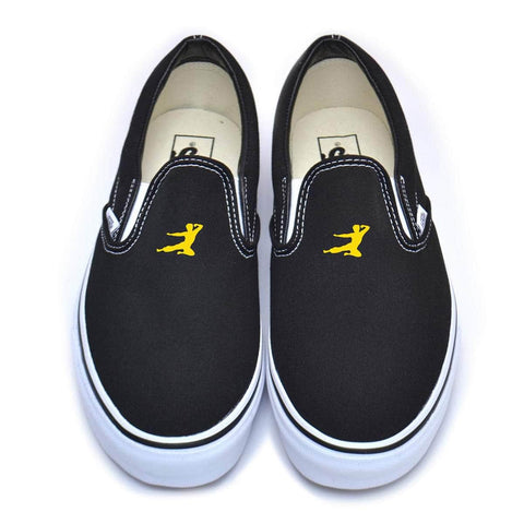 Flying Man Small Vans Classic Slip-On Sneakers | Shop the Bruce Lee Official Store