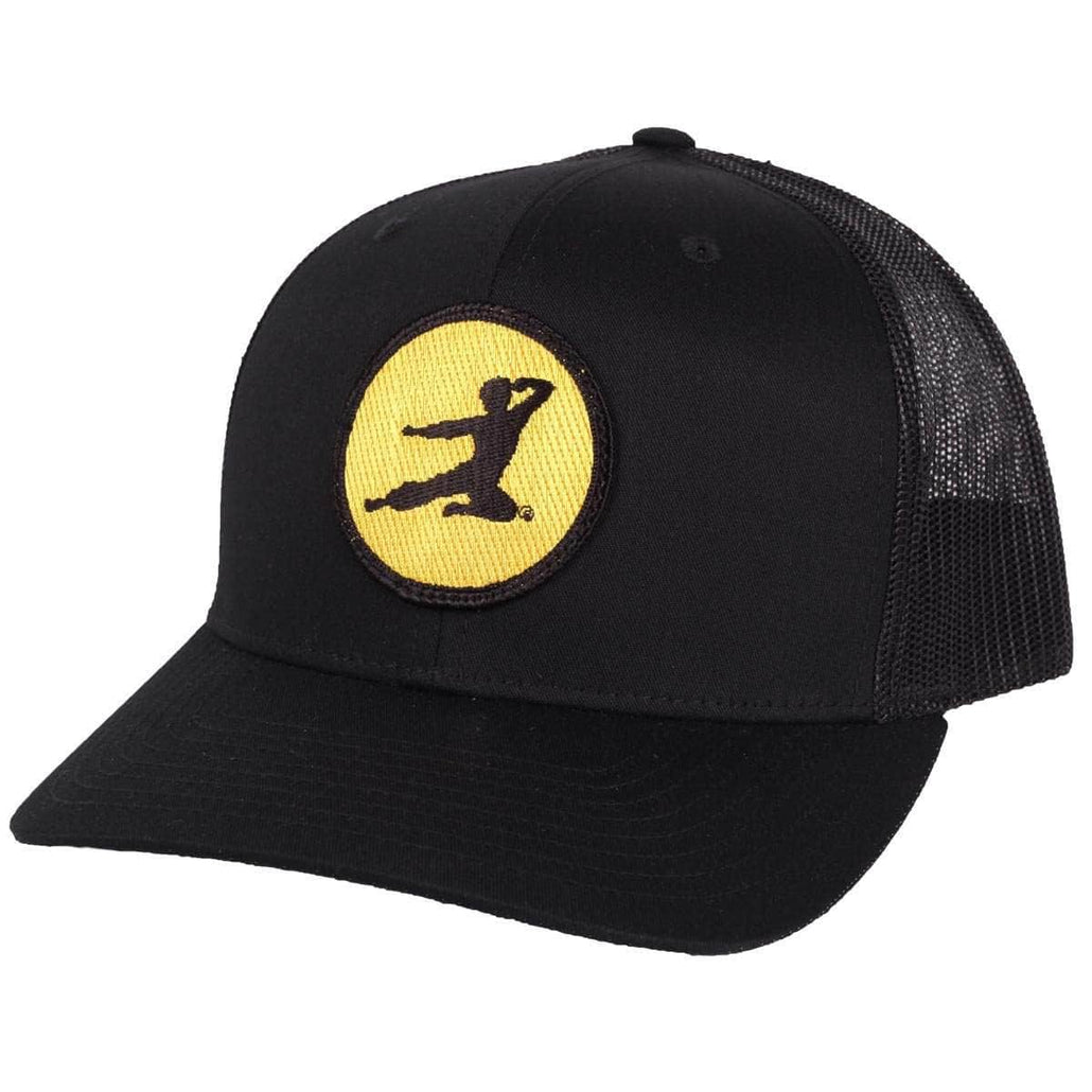 Flying Man Patch Trucker Hat