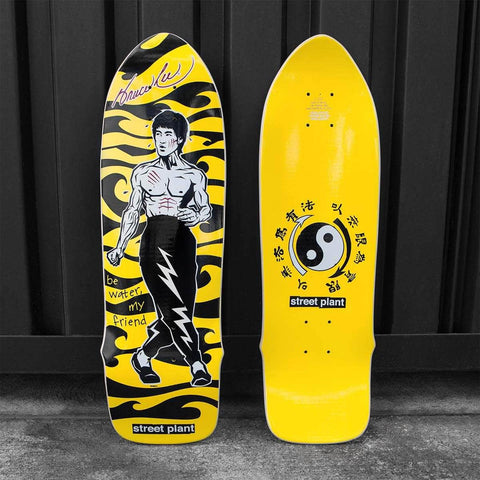 Bruce Lee Be Water Skate Deck (8.25) | Shop the Bruce Lee Official Store