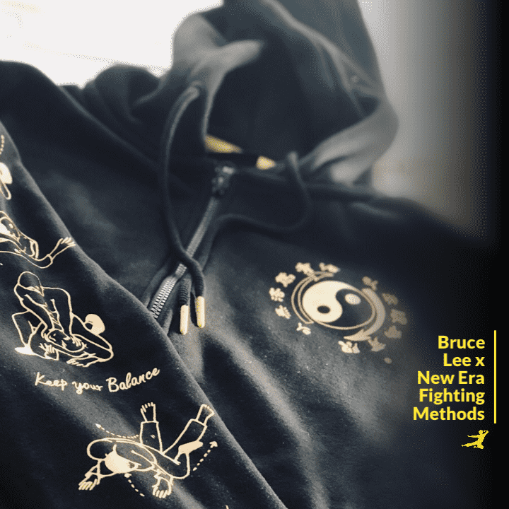 New Era Fighting Method Full-Zip Hoodie - Bruce Lee Official Store e41a3095e68