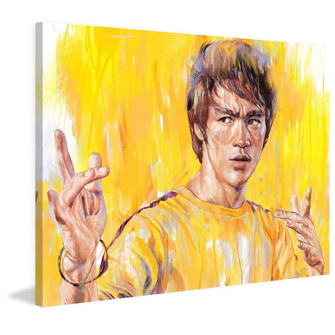 CanvasPop Art Milton Wong Trick Jumpsuit Canvas Print