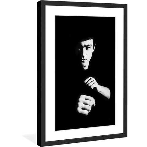 CanvasPop Art Out of Darkness Framed & Matted Print
