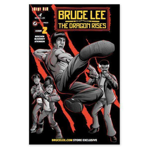 The Dragon Rises Issue # 2 Cover 3 - A Bruce Lee Store Exclusive