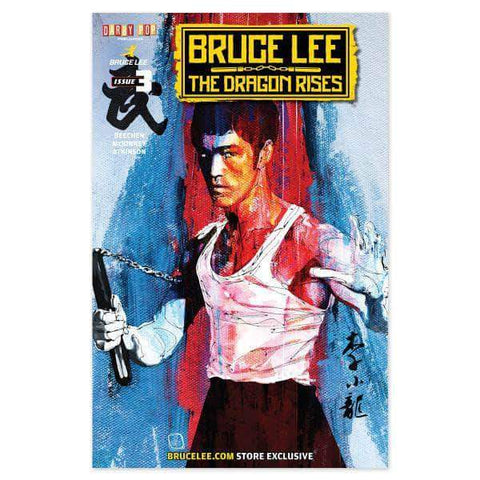 Darby Pop COMICS The Dragon Rises Issue # 3 Cover 2 - A Bruce Lee Store Exclusive