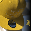 Flying Man Tonal New Era 9Fifty Snapback Cap - Yellow | Shop the Bruce Lee Official Store