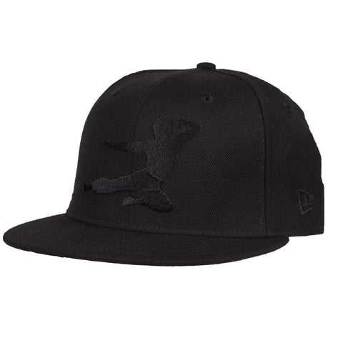 New Era Hat Flying Man Stealth New Era 59Fifty Fitted Cap