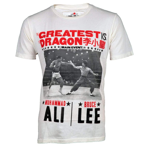 Roots of Fight Shirt SMALL / Vintage White The Greatest vs. The Dragon T-shirt