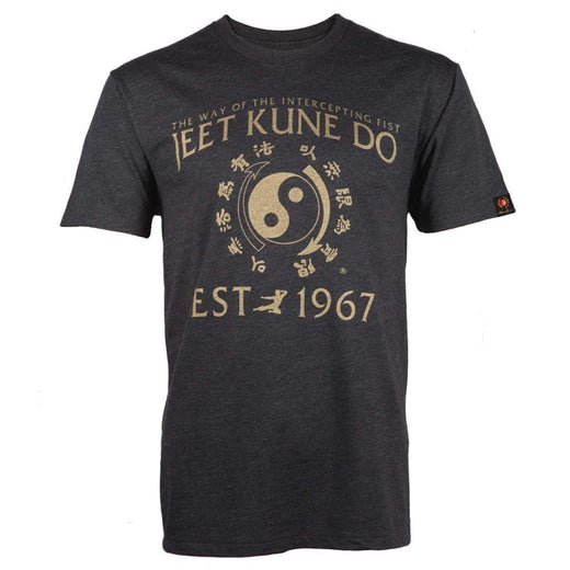 Jeet Kune Do Homage T-shirt - Heather Black