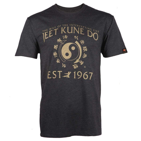 T Tycoon Shirt Jeet Kune Do Homage T-shirt - Heather Black