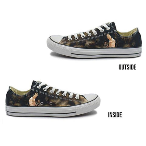 Dragon Story Converse Chuck Taylor All Star Low Top Sneakers Bruce
