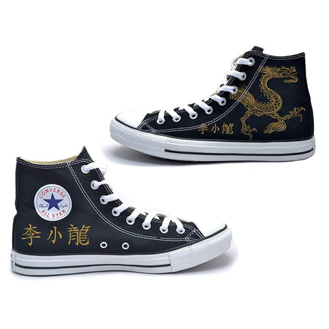 The Ave Shoe Lee Little Dragon Converse Chuck Taylor All Star High Top Sneakers