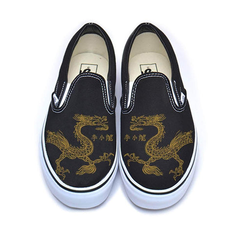 The Ave Shoe Lee Little Dragon Vans Classic Slip-On Sneakers