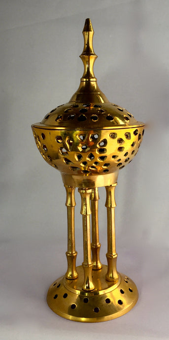 Brass Greek Pedestal burner
