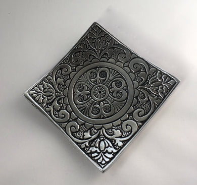 Ornate incense tray