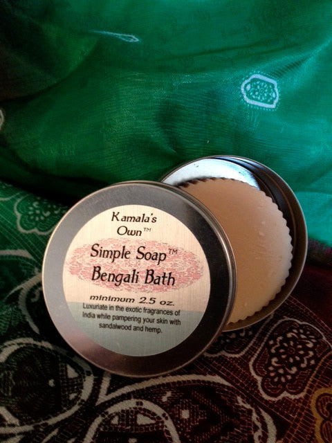 Bengali Bath Simple soap