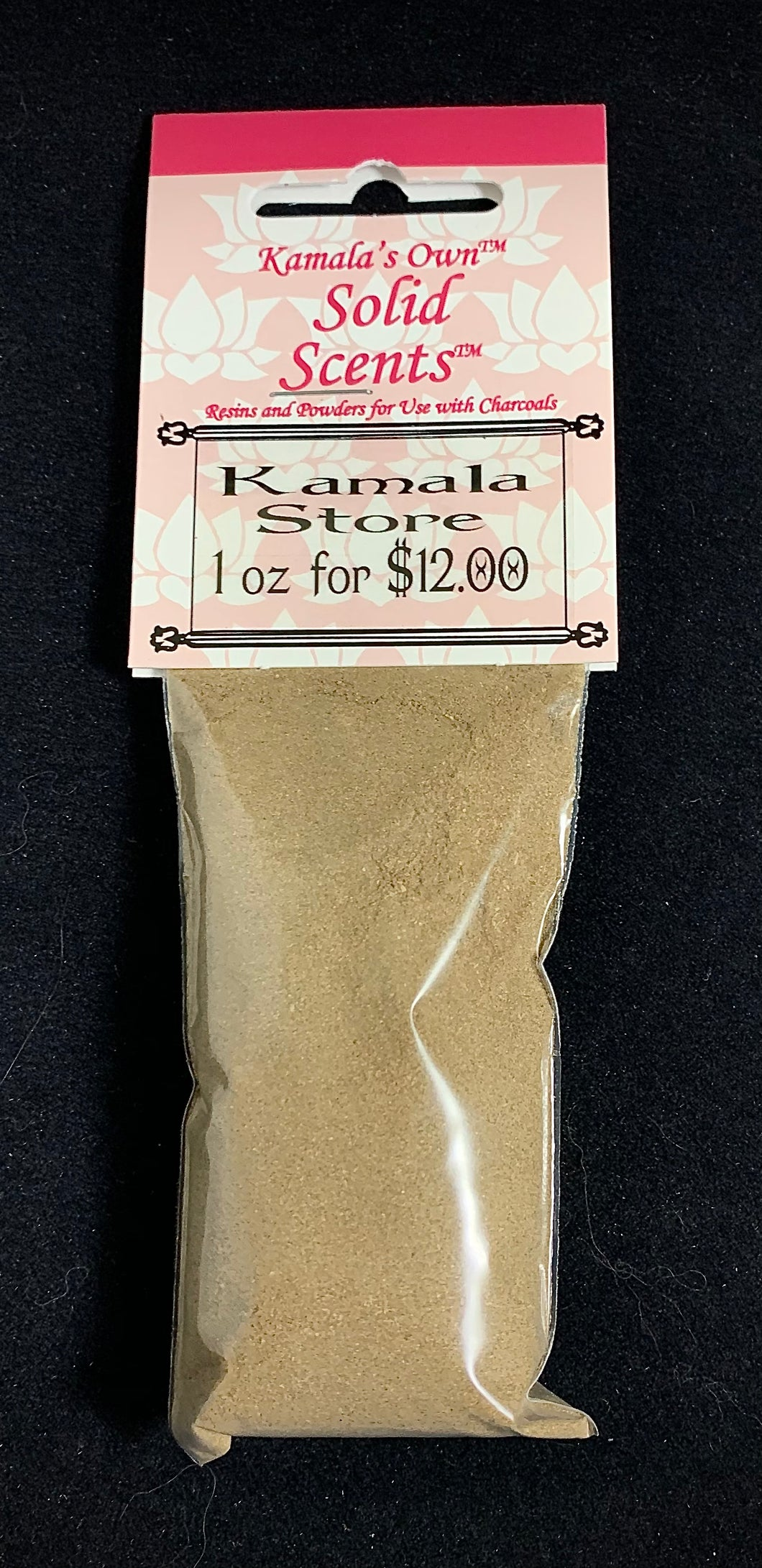 Kamala Store powdered incense—1oz.