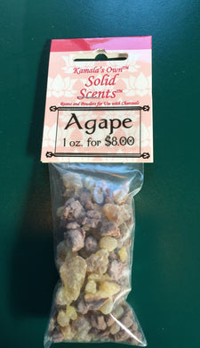 Agape incense
