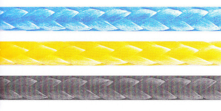 Racing line constructed of 100% Dyneema® SK-78 in a 12 strand heat set rope
