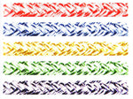 racing line of double braided 12 strand 100% Dyneema® core with Cordura cover