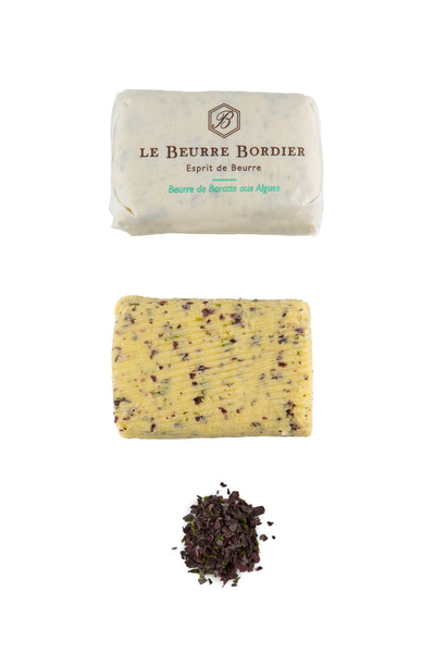 Le Beurre Bordier - Beurre de Baratte aux Algues - Sea Butter / Seaweed Butter - Rare Tea Cellar