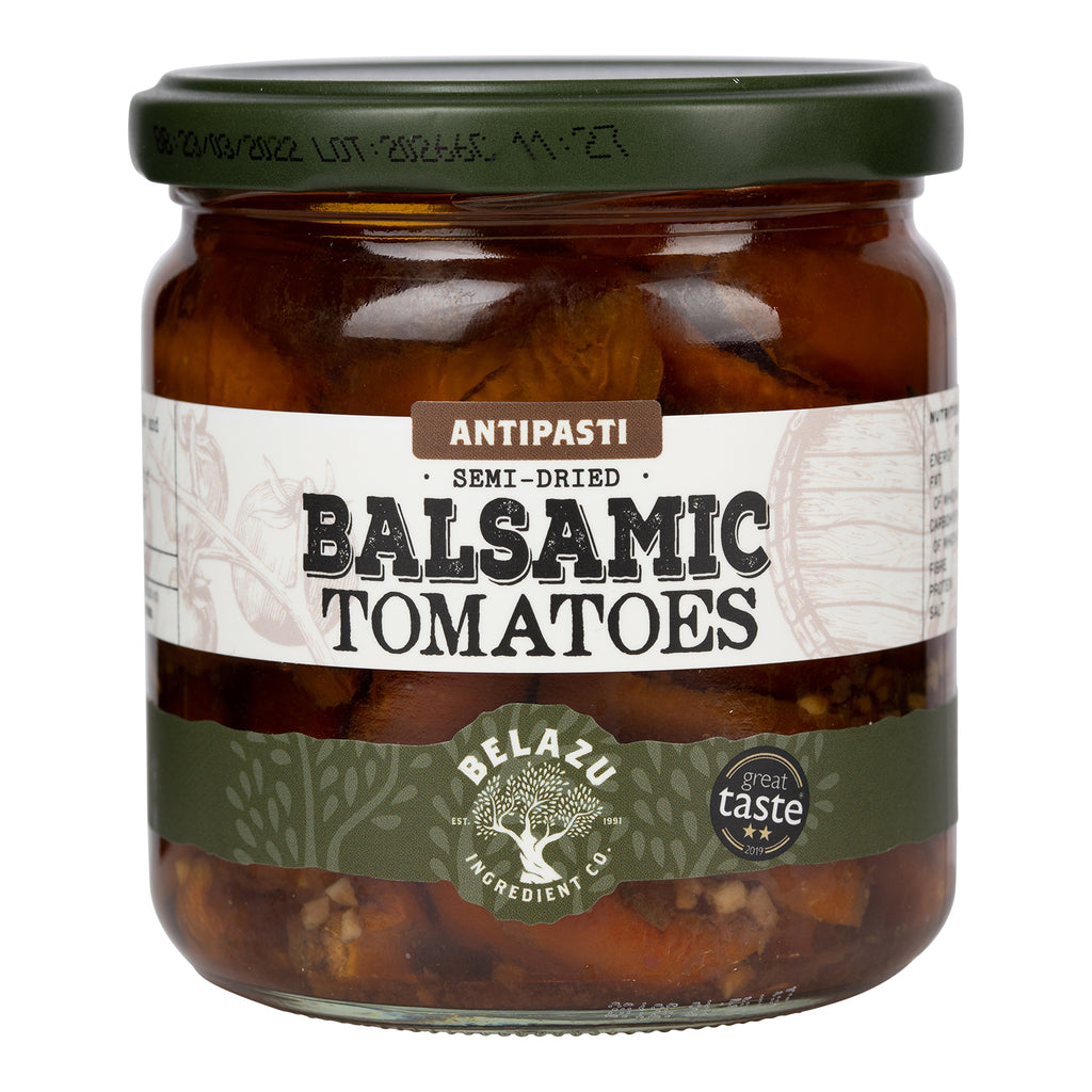 Belazu Balsamic Semi-Dried Tomatoes - Rare Tea Cellar