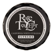Rare Tea Cellar California White Sturgeon Supreme Caviar - Rare Tea Cellar