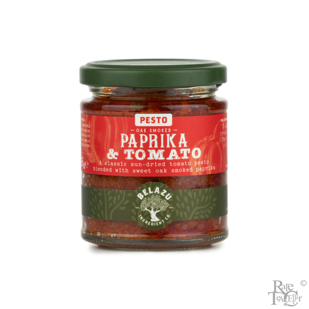 Belazu Oak Smoked Paprika and Tomato Pesto - Rare Tea Cellar