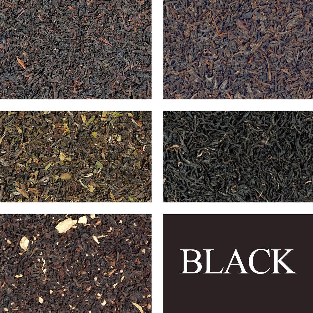 Black Tea Sampler - Rare Tea Cellar