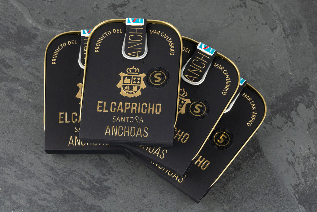El Capricho Santoña Anchoas - Anchovies in Extra Virgin Olive Oil - Rare Tea Cellar